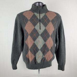 Barbour Men's Half Zip Sweater Med